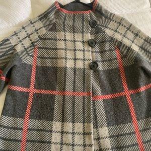 Belford Sweater Plaid mid Crop Jacket MED